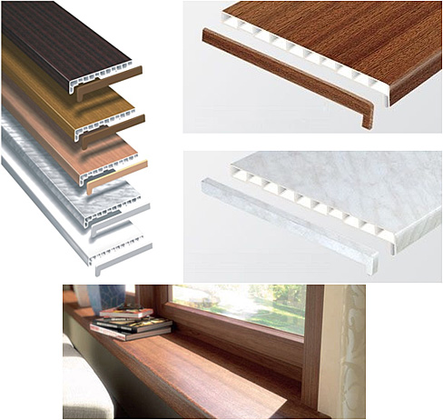 Internal Pvc Window Sills Eco Tech Windows